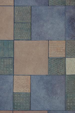 sidewalks: Colorful tile sidewalks texture