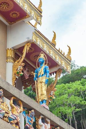 vishnu: Hindu God Vishnu Wat Kao Rang at Phuket, Thailand