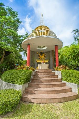 ganapati: Hindu god the ganesh statue in Thailand Stock Photo