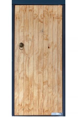 wicket door: The Vintage architecture old chinese handle wood door.