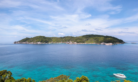similan islands: Beautiful tropical beach ,clear water  ,Similan Islands in Thailand. Stock Photo