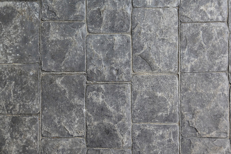 stratification: Tile stone walkway ,background ,texture. Stock Photo