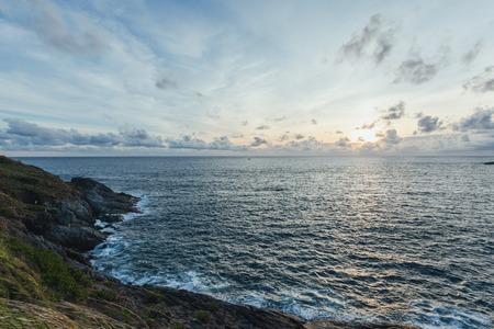 phrom: Sunset at Laem Phrom Thep,Phromthep Cape south of Phuket
