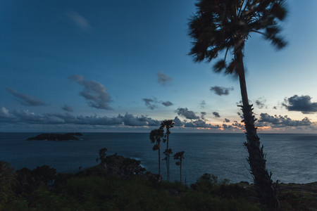 Sunset at Laem Phrom Thep,Phromthep Cape south of Phuket