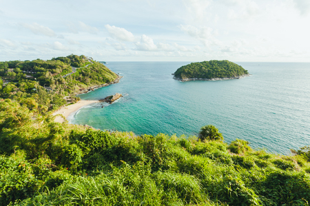 Landscape of Laem Phromthep, Promthep Cape at Phuket, southern Thailand