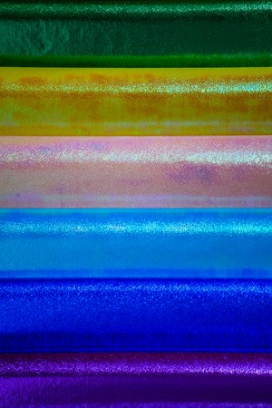 Abstract of Colored paper. Stack of Colorful papers. Stock Photo