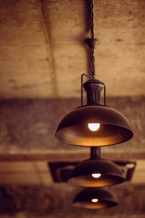Beautiful Retro luxury light lamp decor