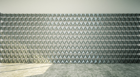 Abstract 3D wall background 3D rendering Stock Photo