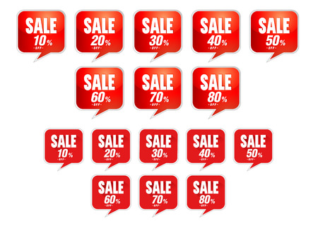 Sale tags discount