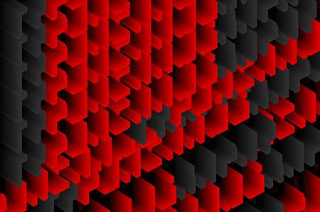 Abstract block Background Ilustracja