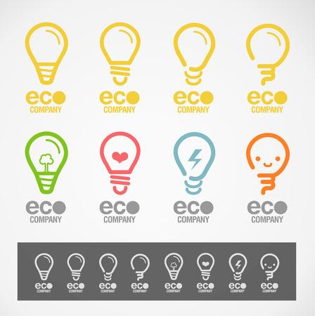 Logo and Symbol design \\\\\\\\\\\\\\\\\\\\\\\\\\\\\\\Light & ECO\\\\\\\\\\\\\\\\\\\\\\\\\\\\\\\ concept