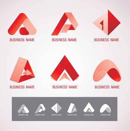 commerce and industry: Logo and Symbol design A concept