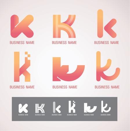 Symbol design K concept