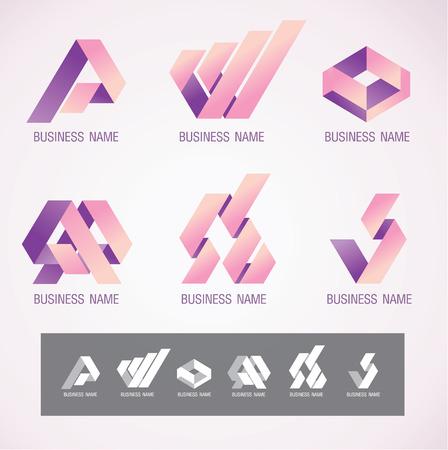 Symbol design Ribbon concept