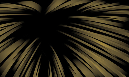 titanium: Abstract technology  Speed lines  Gold vector background