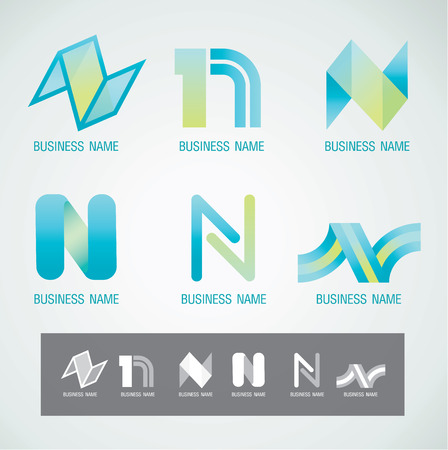 Logo and Symbol design N concept