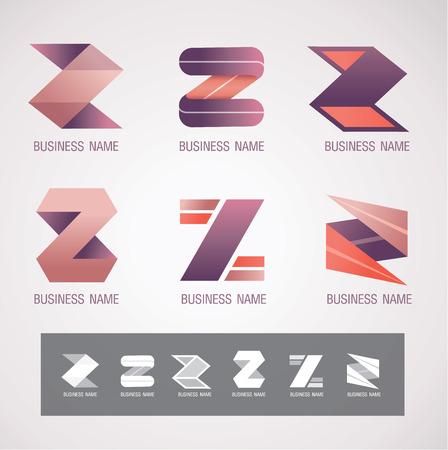 icon and Symbol design Z concept