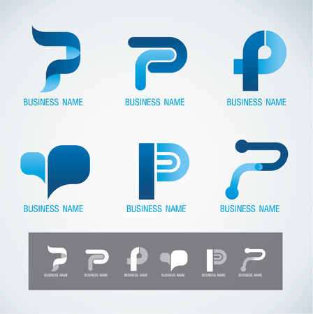 medical technology: Symbol design P concept