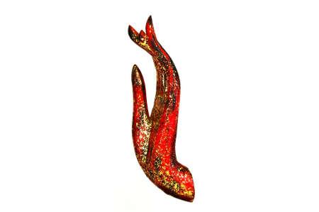 gold teakwood: Buddha Hand