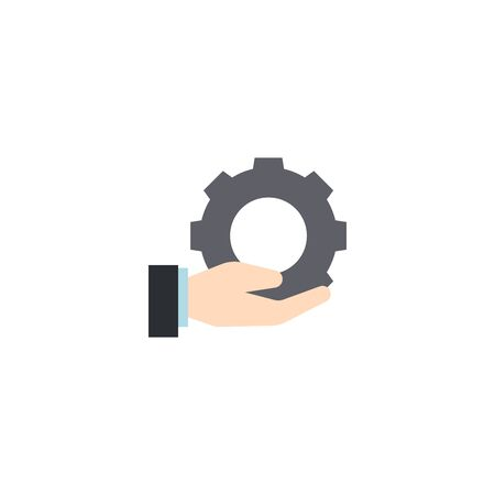 Services creative icon. flat illustration. From Services icons collection. Isolated Services sign on white background