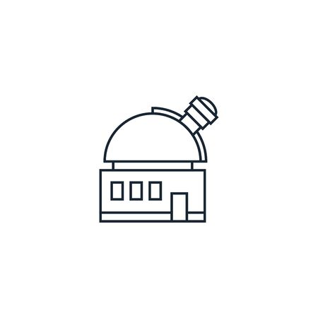 creative icon. line illustration on white background. Space Exploration icons collection.