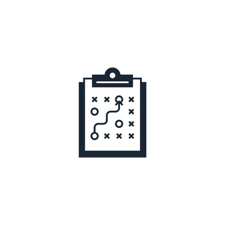Business Planning creative icon. From Entrepreneurship icons collection. Isolated Business Planning sign on white background Illustration