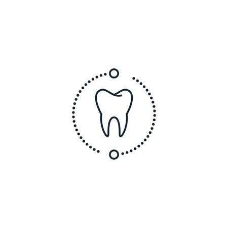 Dental services creative icon. From Dental icons collection. Isolated Dental services sign on white background