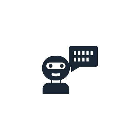 Chat Bot creative icon. From Artificial Intelligence icons collection. Isolated Chat Bot sign on white background