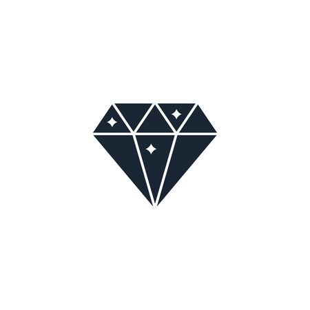 diamond creative icon. From Casino icons collection. Isolated diamond sign on white background