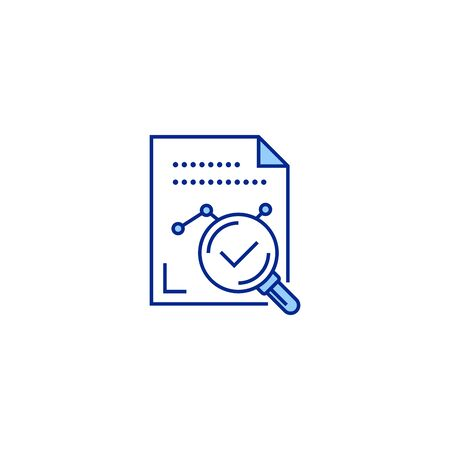 result creative icon. From Analytics Research icons collection. Isolated result sign on white background Stock Illustratie