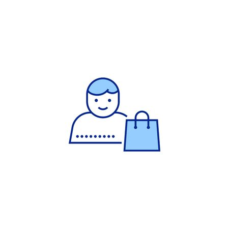 distribution creative icon. From Delivery icons collection. Isolated distribution sign on white background