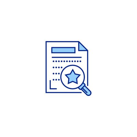 assessment creative icon. From Analytics Research icons collection. Isolated assessment sign on white background