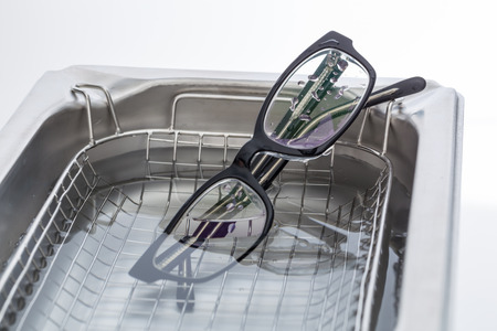 ultrasonic: Ultrasonic cleaner for ultrasonic cleaning Stock Photo