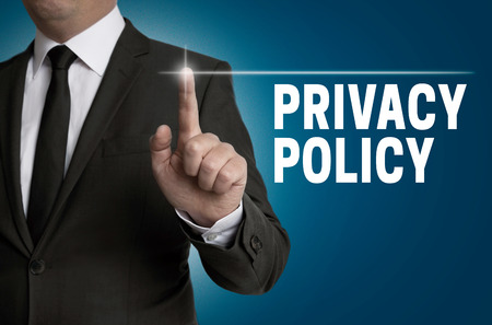 Privacy Policy touchscreen is operated by businessman.