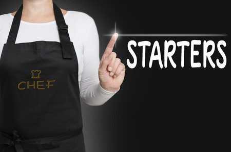 operated: starters touchscreen is operated by chef.