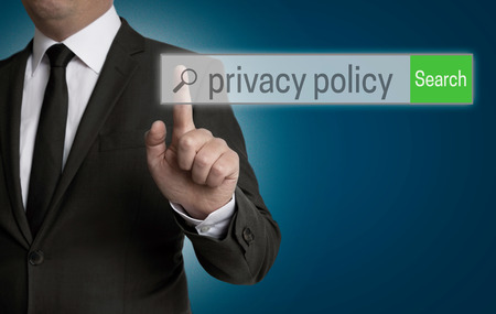 Privacy Policy internet browser is operated by businessman.