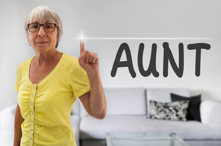 spaciousness: Aunt touchscreen is shown by senior.