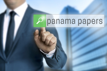 informant: panama papers browser operated by businessman.