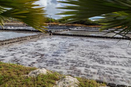 Salines of Tamarin Mauritius. Banco de Imagens - 59866965