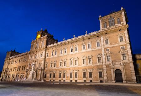 Palazzo Ducale Modena Emilia Romagna Italy by night.
