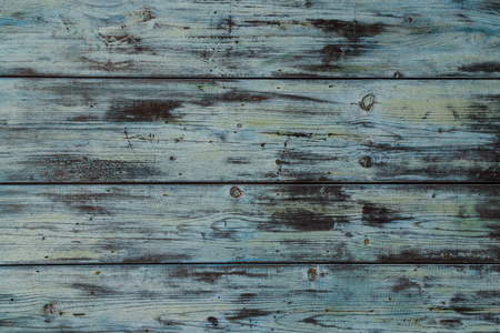 Turquoise wood retro vintage background structure.