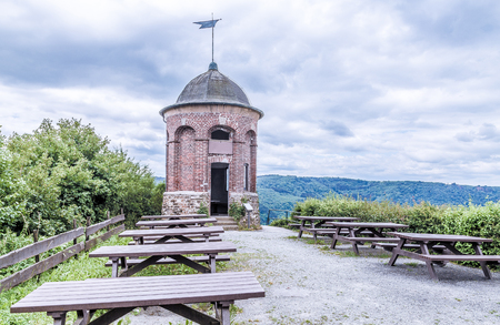 Collis tower in Zell an der Mosel Rhineland-Palatinate Germany.