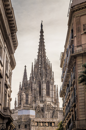 Cathedral of Barcelona Spain Europe