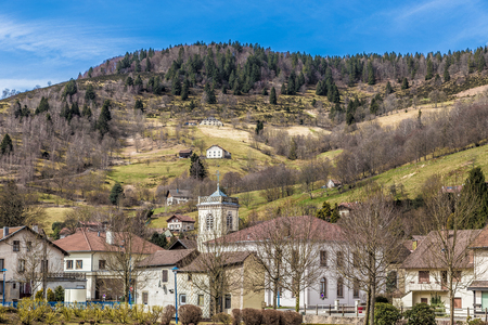 Bussang in the Vosges France Europe.