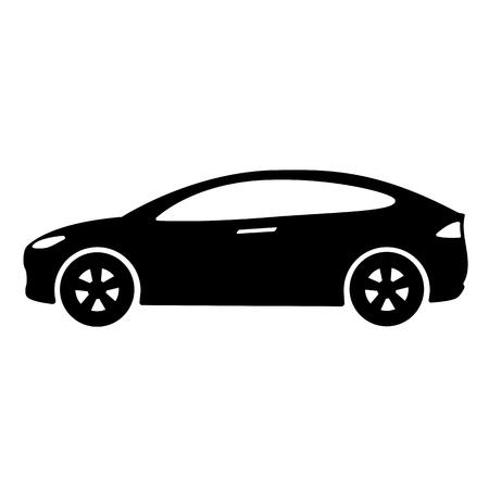 車のアイコン ベクトルの図。  イラスト・ベクター素材