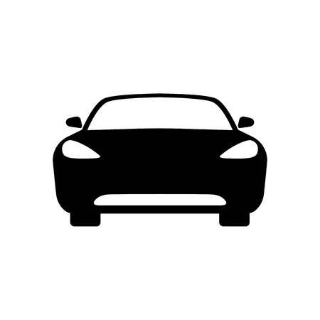 Auto pictogram vectorillustratie