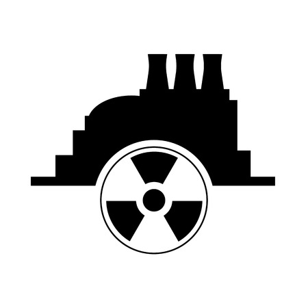 Nuclear power icon Vector Illustration