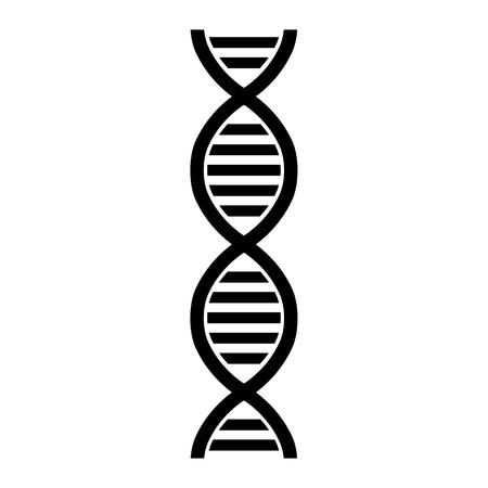DNA molecule structure Ilustrace
