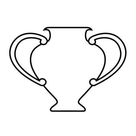 Amphora line icon. Ancient vase, vial or clay jug. Vector Illustration
