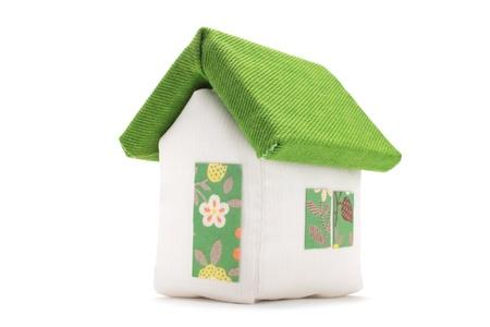 Fabric house photo